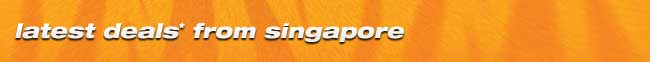 Aktuelle Angebote ab Singapur