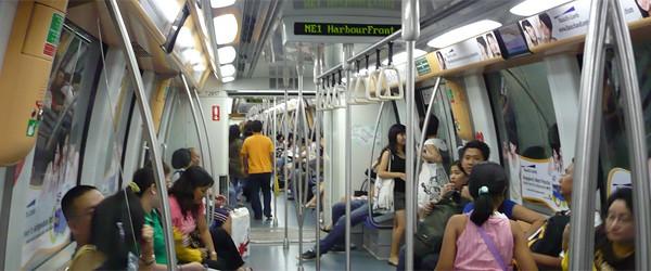 Verkehrsmittel Singapur