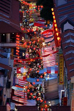 In Singapurs Stadtteil Chinatown