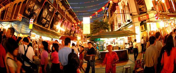 Neujahrsfest in Singapr